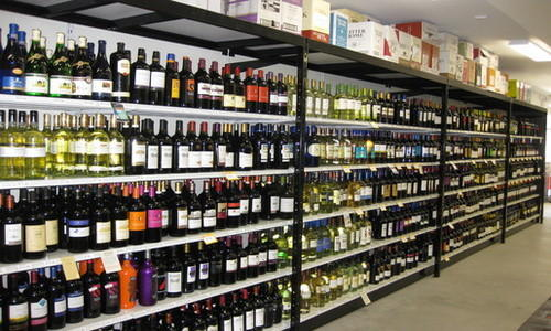 Liquor Display Racks