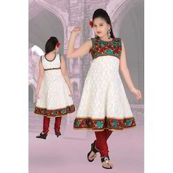 Cotton Girls Anarkali Suit