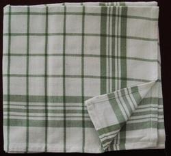 Cotton Check Striped Kitchen Cloths, Wash Type: Hand Wash