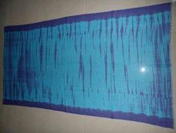 Tie Dye Border Scarf