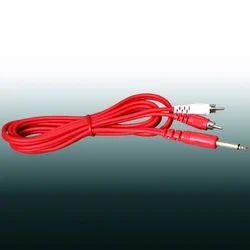 Phono Mono To 2RCA Male Audio Cable