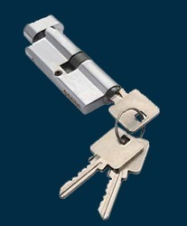 Cylinder Lock Both Side Key with Knob