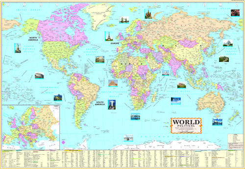 India map educational charts wholesaler from delhi world map gumiabroncs Image collections