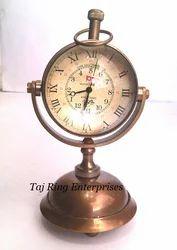 Antique Brass Nautical Clock
