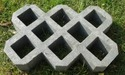 Cement Grass Paver Block