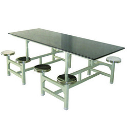 SS 8 Seater Dining Table