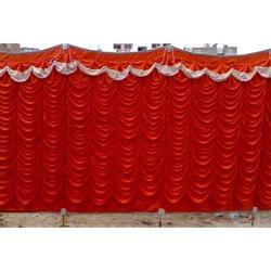 Dark Red Sidewall Tent