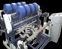 Slitter Rewinder Machine For Polypropylene Liner Fabric