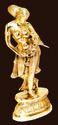 Brass Dancing Statue
