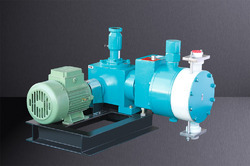 Hydraulic Actuated Diaphragm Pumps WITH DRDS SYSTEM