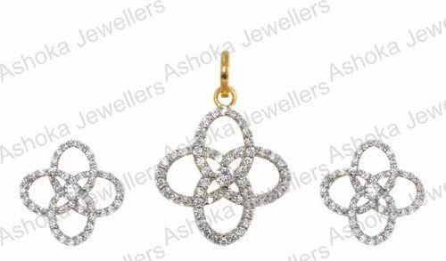 Designer star shaped pendant set ashoka jewellers jaipur id designer star shaped pendant set mozeypictures Image collections