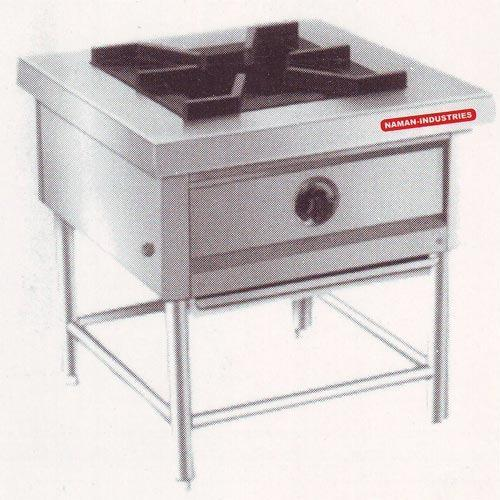 Ss Color Naman Single Burner Gas Range