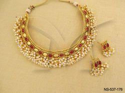 Oval Design Necklace