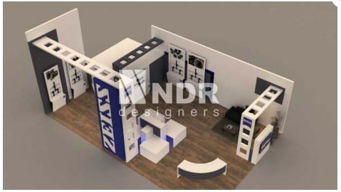 Stall Layout For Exhibition : Exhibition stall layout design exhibition stall design ndr