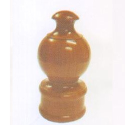 Round Wooden Finial