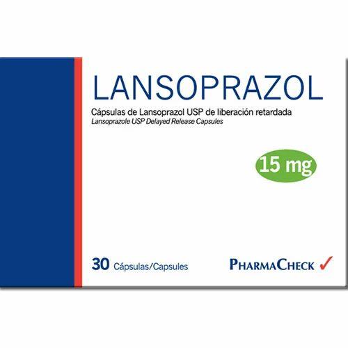 Lansoprazole 15 mg Capsules