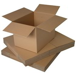 Plain Double Wall 5 Ply Industrial Corrugated Boxes, Size(LXWXH)(Inches): Standred, Rectangle
