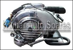 LML vespa 5 port complete engine with reed valve ,exhaust etc., 2 Stroke Scooter