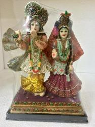 Celestial Couple Lord Radha Krishna Statue High Quality For