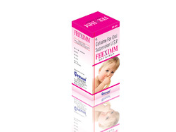 Cefixime for Oral Suspension U.S.P 50 mg, Packaging Type: Bottle