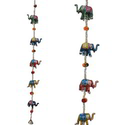 Paper Mache Elephant Wall Hanging