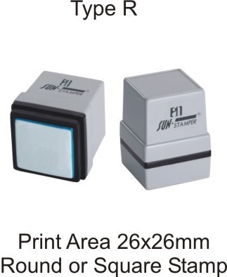 round rubber stamp self ink stamp fine imprint delhi id
