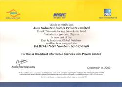 D&B Certified Company