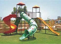 3 Slide Playground Equipment