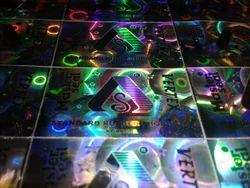 Dot Matrix Hologram