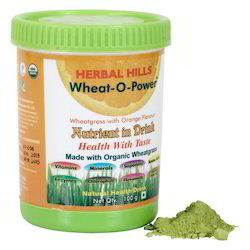 Wheat-O-Power - Organic Wheatgrass in Orange Flavour - 100 Gms
