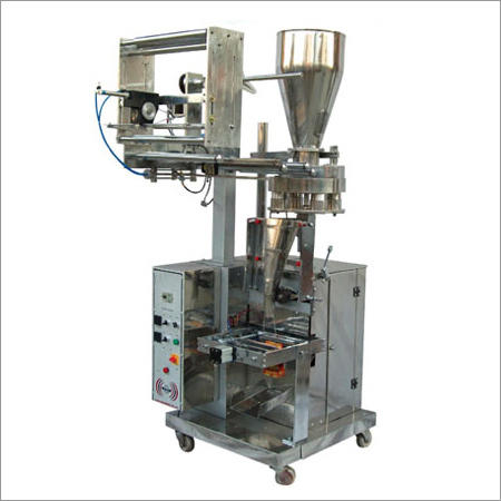 Automatic Snacks Pouch Packing Machine, 1-2 HP
