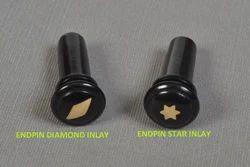Diamond Inlay and Star Inlay Endpin