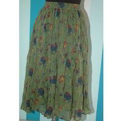 Ladies Voile Skirt