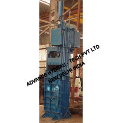 Single Cylinder Vertical Plastic Baler