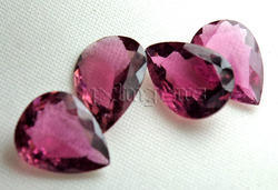 Pink Tourmaline Pear Gemstone