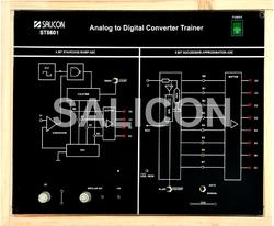 Salicon Nano Analog to Digital Converter Trainer, ST 8601, for Industrial