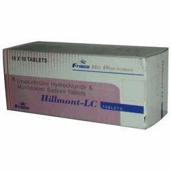 Levocetrizine 5 Mg Hcl Montelukast Sodium 10 Mg Tablet