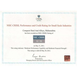 Crisil Performance & Credit Rating for small scale industries