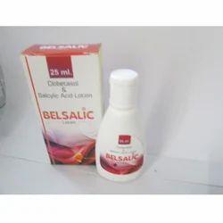 Belsalic Clobetasol & Salcylic Acid Lotion, Grade Standard: Medicine Grade, Packaging Type: Bottle