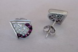Micro Pave CZ Earring