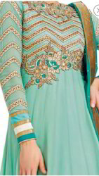 Designer Embroidered Suit