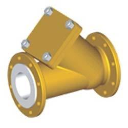 Lined Ball Check Valve Y Type