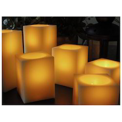 Lighting Wax LED Square Candle