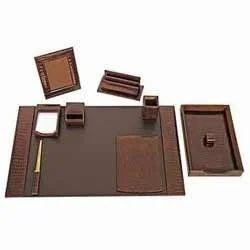 Leather Desktop Items