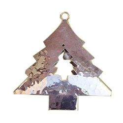 Brass Hanging Christmas Tree