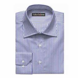 Blue Men Formal Shirts, For Office Wear