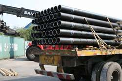 Round ASTM A 285 Grade A Pipes, Size: 1-2 inch