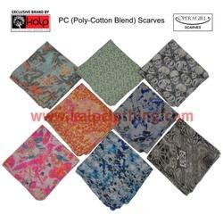 PC Scarves Poly Cotton