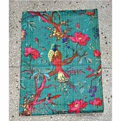 Indian Cotton Kantha Quilt