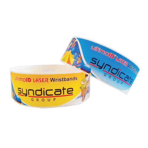 photo relating to Printable Wristbands referred to as Laser Printable Wristbands, Ultimoid Laserbands Noida